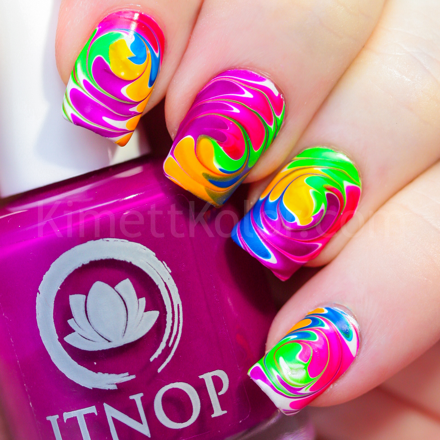 KimettKolor Top Ten Nail Art 2016