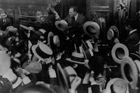 1926 visita del ex presidente de la Nación, Hipólito Yrigoyen