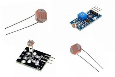 Pengertian LDR atau Light Dependent Resistor