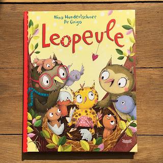 """""""Leopeule"""" von Nina Hundertschnee,  Illustrationen: Pe Grigo, Dragonfly Verlag, Bilderbuch - Rezension von Kinderbuchblog Familienbücherei"""