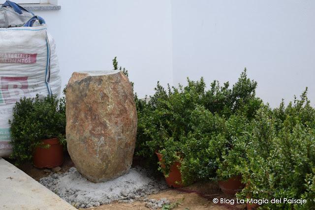 jardines con rocas, jardines pequeños, jardines con piedras, monolitos piedra decorativos