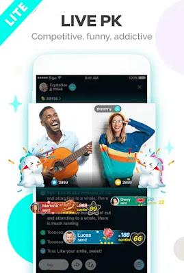 Screenshot BIGO LIVE Lite