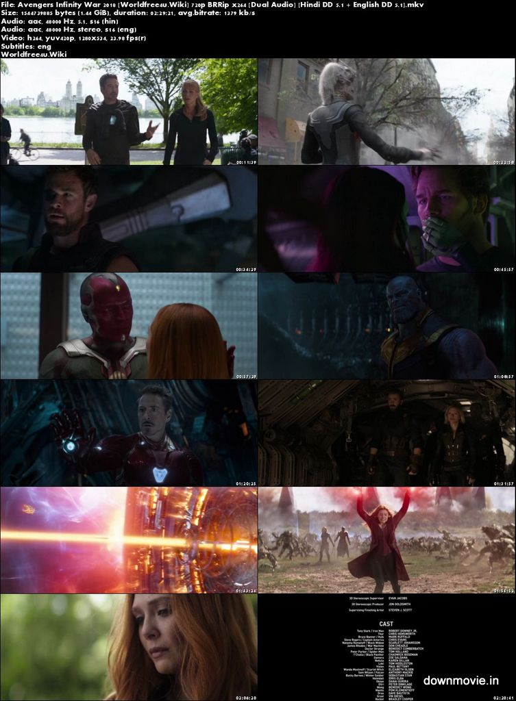 Avengers infinity war full movie download (2018) dual audio 720p