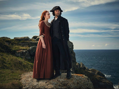 Aidan Turner, Eleanor Tomlinson, Poldark, RTS West of England Awards