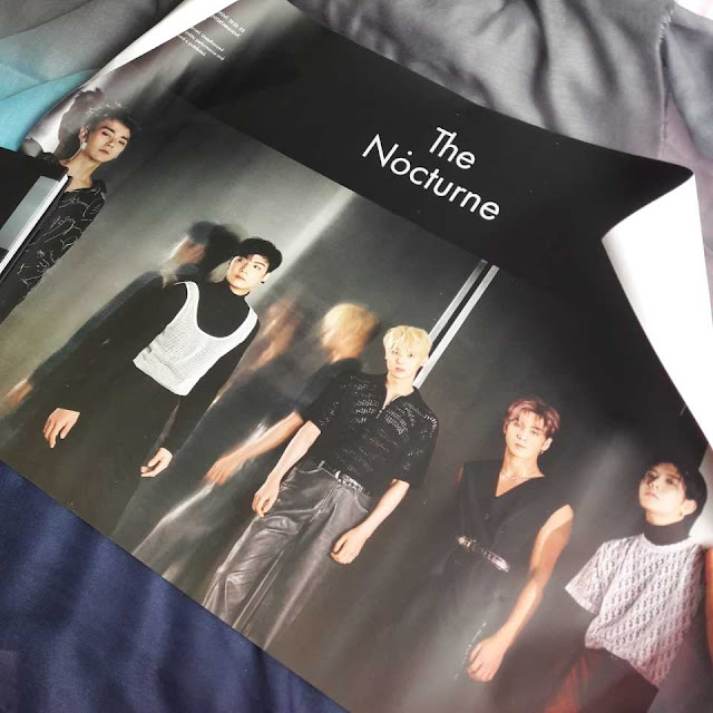 Unboxing Album Nu'est The Nocturne Versi 1