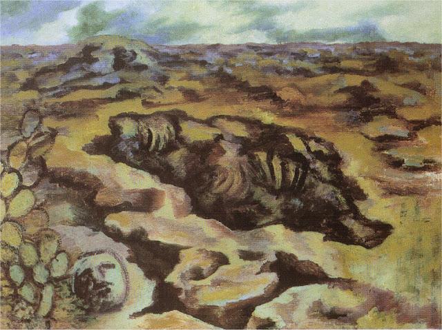 Фрида Кало - Пейзаж. 1946 - 1947