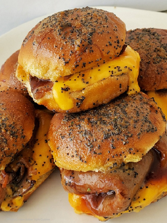 these are beef sliders