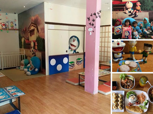 Kafe tema Doraemon di Bandung