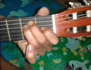 Kunci gitar E mayor