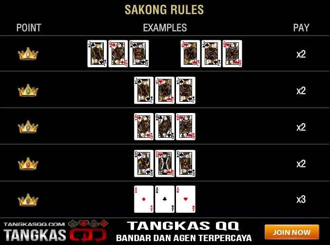 kartu tertinggi sakong