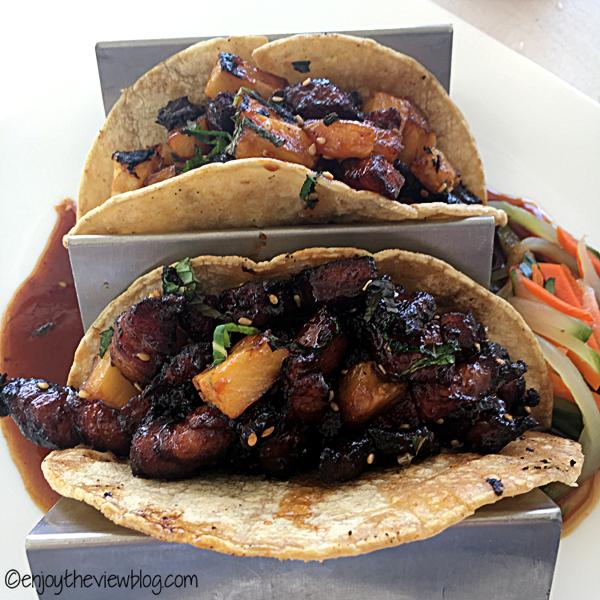 Thai Pork Tacos from The Bay in Santa Rosa Beach!
