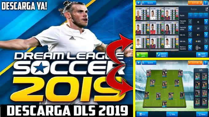 Descarga Ya Dream League Soccer 2019 Todos Los Jugadores Desbloqueados Para Android