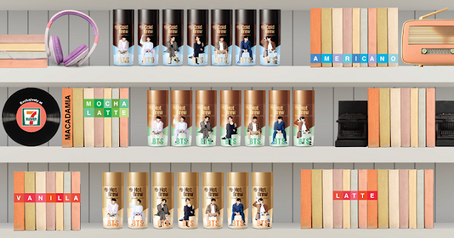 Hy BTS Special Package coffee Hy BTS Special Package coffee 7-eleven malaysia