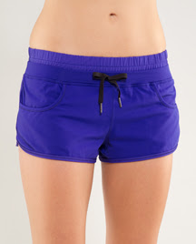 lululemon pigment blue strength and tone short