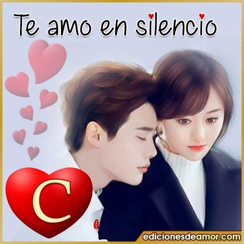 te amo en silencio C
