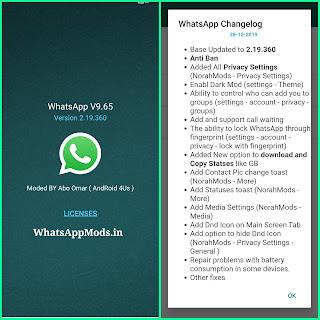 NOWhatsApp v9.65