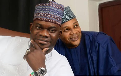 Yahaya Bello and James Faleke