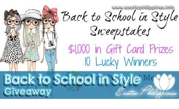 Back to School in Style Giveaway