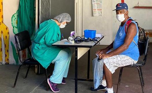 Unidades de Saúde da Família geridas pela FMP/Fase em atendimento ao coronavírus