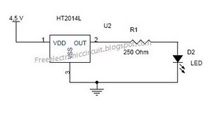flash lights circuit