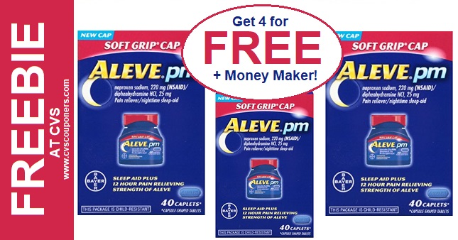 Huge Aleve Money Maker CVS Deal 2-23-2-29