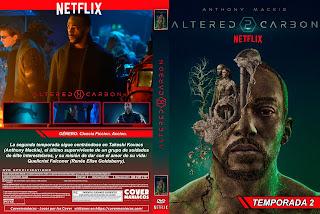 ALTERED CARBON TEMPORADA 2 - 2020 [COVER - SERIES - DVD]