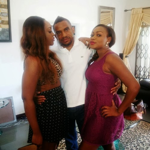 Nollywood Actress Ruth Kadiri On Jack & Jill Movie Set In ...