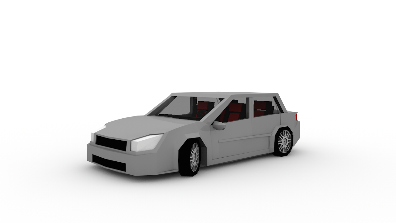 minecraft car rig fiat linea cinema 4d anz creations. Black Bedroom Furniture Sets. Home Design Ideas
