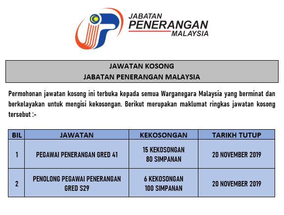 Peluang Kerjaya Dalam Perkhidmatan Awam / Jabatan Penerangan Malaysia