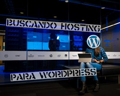 Buscando hosting para WordPress