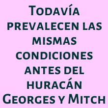 HURACAN,TORNADO,SISMO,MITCH,GEORGES,RIESGO