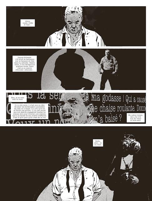 "page ""HOPE"" de Guy Adams et Jimmy Broxton"