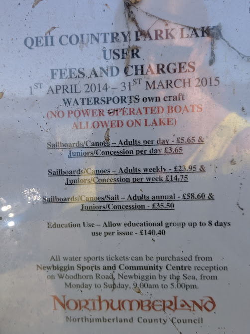 Queen Elizabeth II Country Park Charges