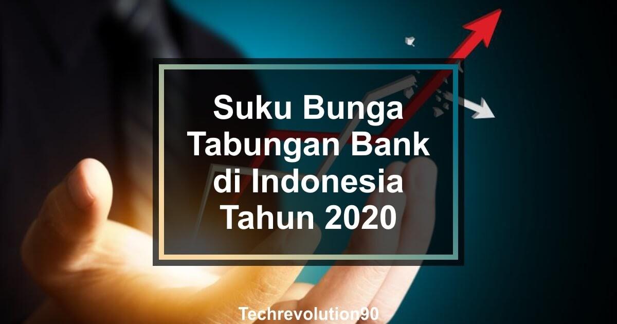 Informasi Suku Bunga Tabungan Bank Di Indonesia Tahun 2020