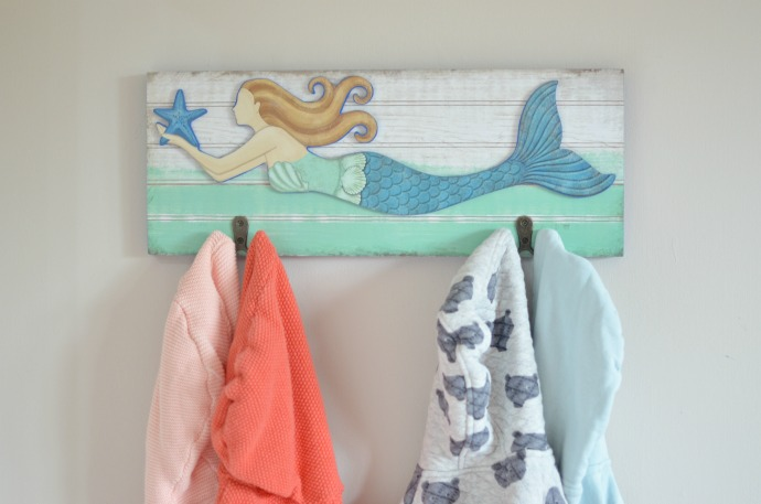 Mermaid themed kids bedroom, coastal mermaid nursery, kids interiors, themummyadventure.com