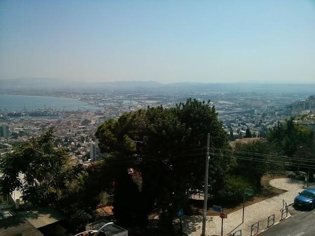 תצפית מפרץ חיפה