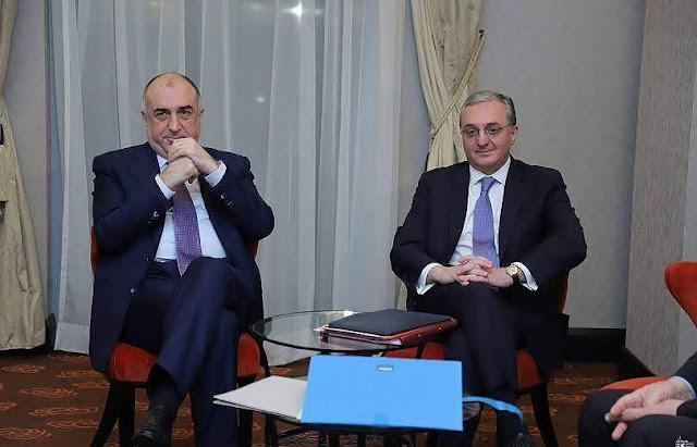 Cancilleres armenio y azerbaiyano digital