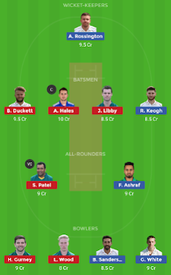 NOR vs NOT dream 11 team | NOT vs NOR