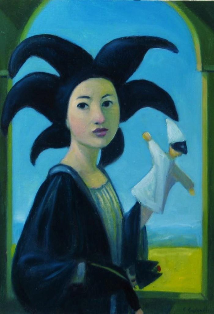 Итальянский художник. Claudio Giulianelli