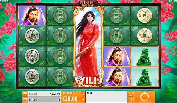 Main Slot Gratis Indonesia - Sakura Fortune (Quickspin)