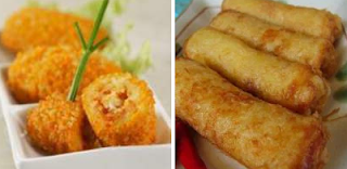 Egg Noodle Recipe Chicken croquettes