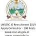 UKSSSC JE Recruitment 2019 Apply Online 100 Jr Engineer Posts | sssc.uk.gov.in