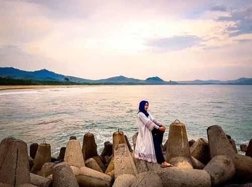 Pantai Mustika Banyuwangi Jawa Timur