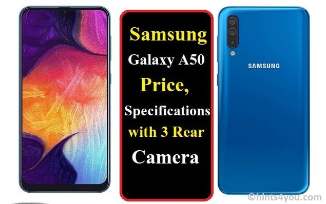 The Samsung Galaxy A50: