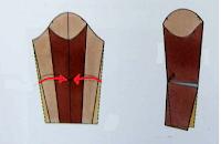 Manga sastre de dos piezas