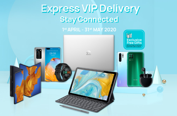 Huawei Express VIP Delivery Service