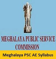Meghalaya PSC AE Syllabus