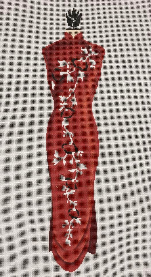 Needlepoint On Painted Canvas