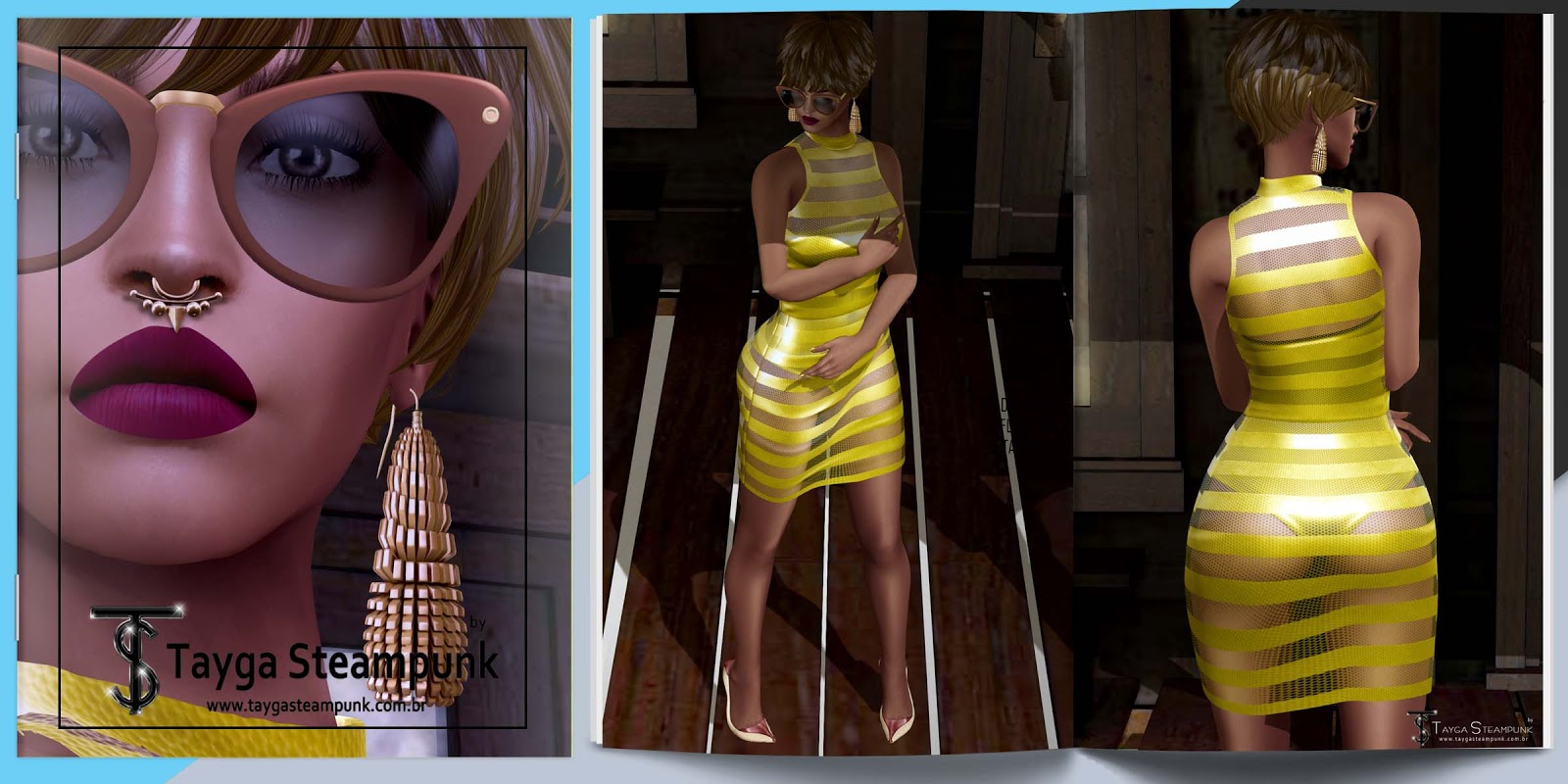 TS# 177 Ameixa e Amarelo