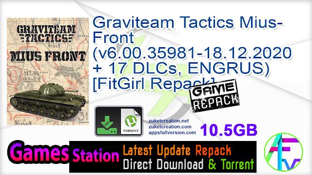 Graviteam Tactics Mius-Front (v6.00.35981-18.12.2020 + 17 DLCs, ENGRUS) [FitGirl Repack]